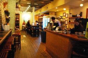 Old Town's Winning Coffee & Wine Shop