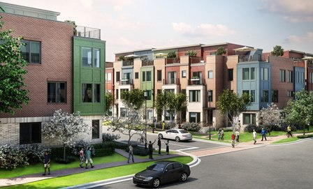 EYA Townhomes at Mosaic District in Fairfax, VA