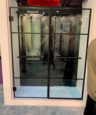 Dreamline Black Shower Doors 1