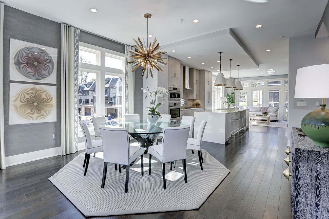 Urban Modern Dining Room