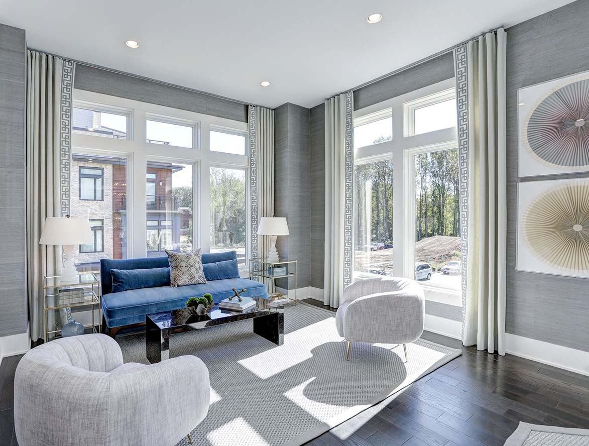 Urban Modern Family Room