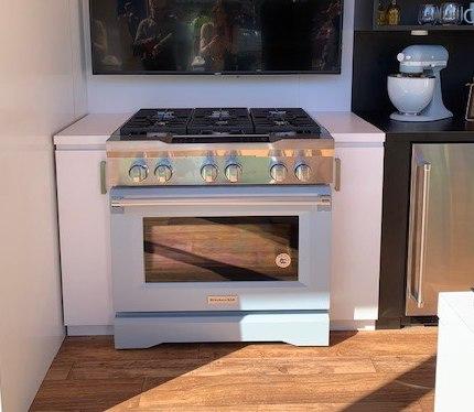 Kitchen Aid Misty Blue Range-2