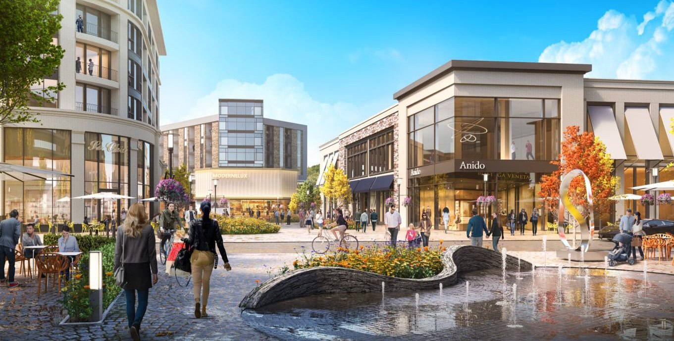New Development Plans at Westfield Montgomery Mall